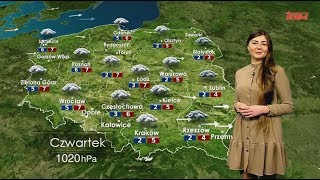 Prognoza pogody 27.12.2018