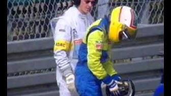 Nürburgring 1999 - Mustakari: Badoerilla ilmiselvästi suonenveto