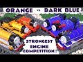 Thomas Friends Strongest Engine Fun Competition Orange Vs Blue With The Funny Funlings TT4U mp3