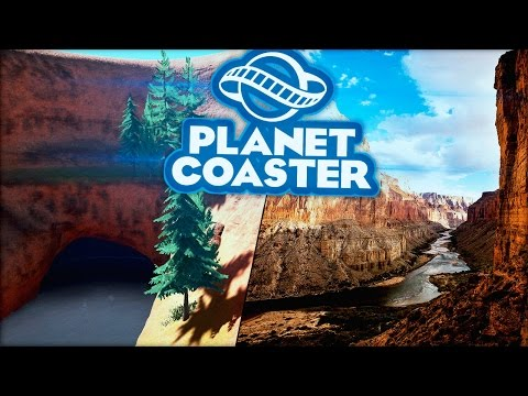 DE GRAND CANYON! - Planet Coaster #13