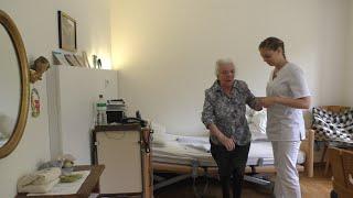 Ein Tag in der Altenpflege