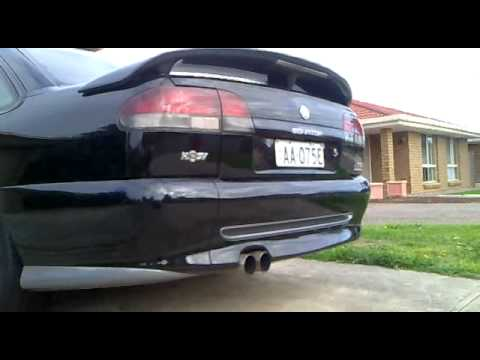 "HSV Senator VS 215i II with 3"" catback system #2"
