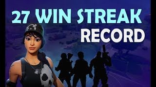 27 WIN STREAK WORLD RECORD | Fortnite Highlights Ft. Dakotaz, HighDistortion, OPscT, and CaMiLLs