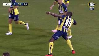 OFFICIAL: Usain Bolt's First Ever Goals | Central Coast Mariners 12.10.2018