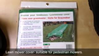 Lawn mower cover for sale from SGM