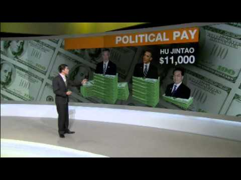 World's top-earning politician gets a pay cut