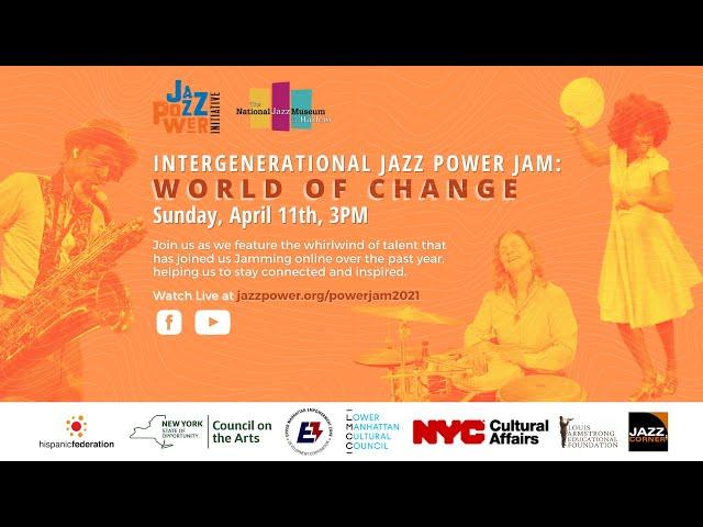 Intergenerational Jazz Power Jam: World of Change