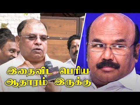 Vetrivel EXCLUSIVE : Jayakumar-யை ஒத்துக்க வைக்க ஒரே வழி