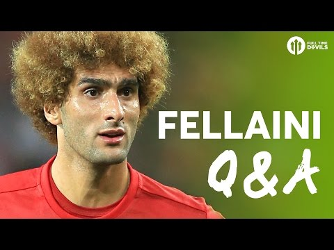 MAROUANE FELLAINI Q&A | FIFA 17 + Ultimate Five Aside Team!