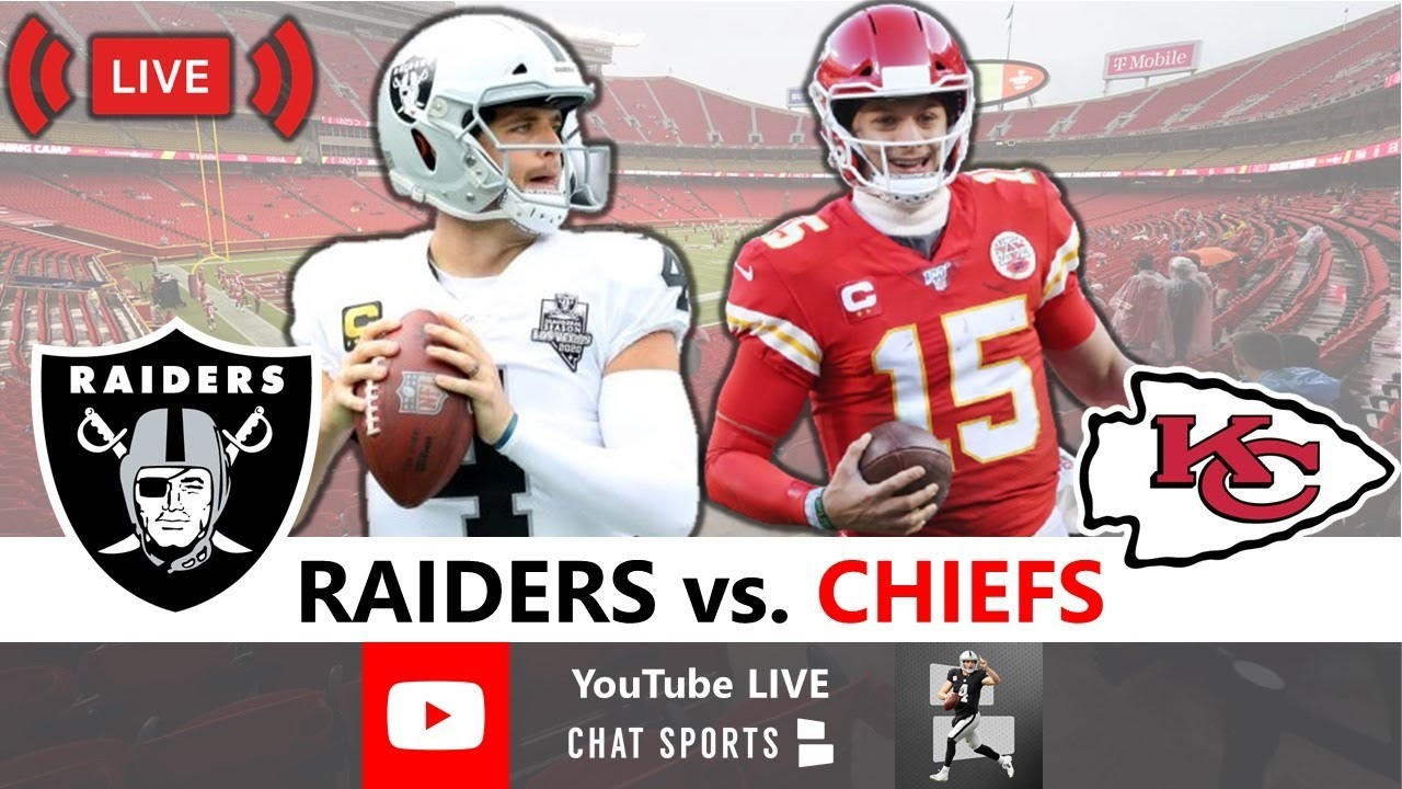 Chiefs at Raiders score: Live updates, game stats, highlights, TV ...