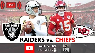 Raiders Beat Chiefs 40-32: Live Reaction, Derek Carr Stats & Highlights Discussion | NFL Week 5
