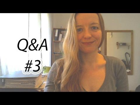 Q&A #3 - Mein Abi-Schnitt, wo ich leben will und muss mein Partner so ticken wie ich?