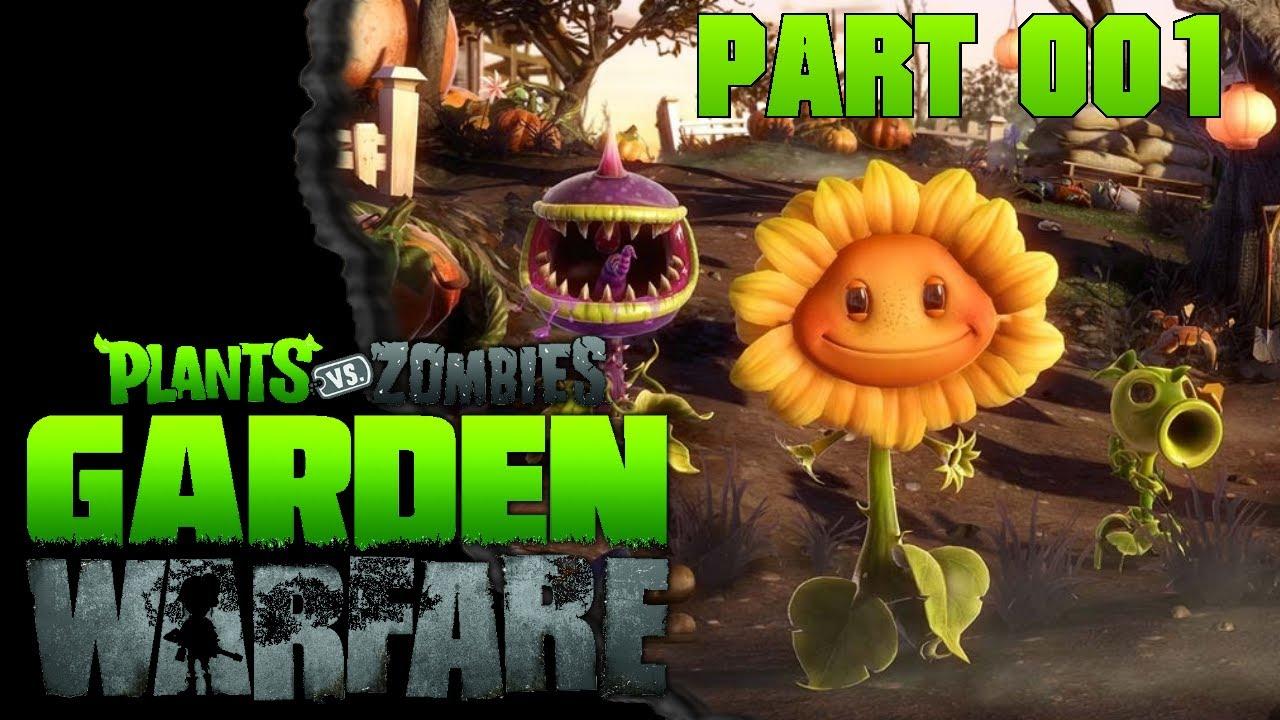 Lets Play Pflanzen gegen Zombies Garden Warfare  01  Die