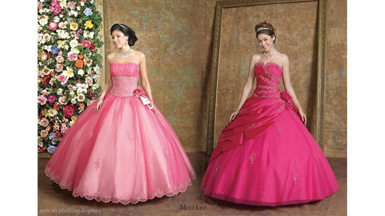 Black And Hot Pink Wedding Dresses Ideas Youtube
