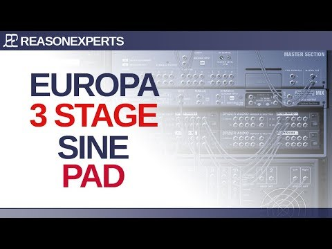 Europa pads design in Reason 10 using Sines only