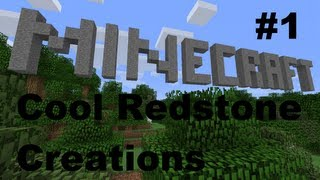 cool minecraft creations redstone