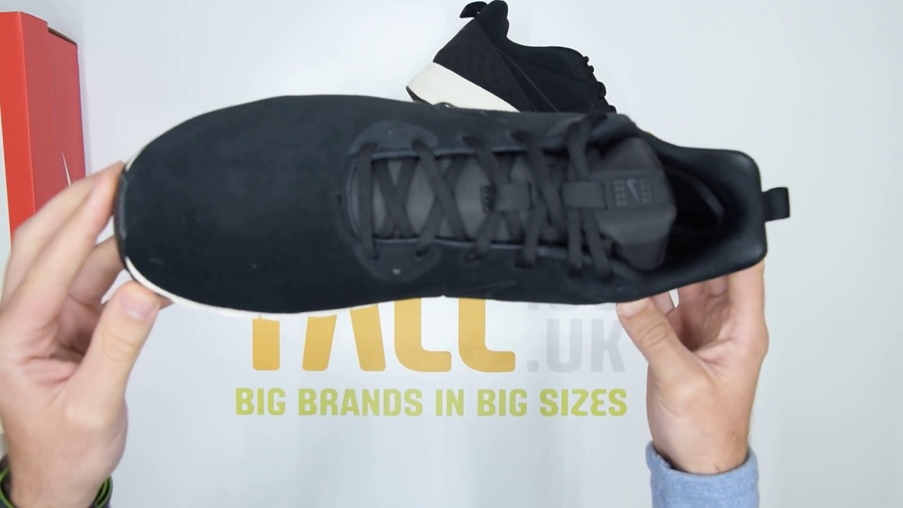 8fe46da6 Nike Air Max Motion Low Premium - Black - Unboxing | Walktall - YouTube