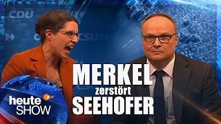 Was Merkel wirklich über Seehofer denkt