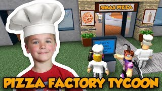 WELCOME TO MY PIZZA RESTAURANT | ROBLOX PIZZA FACTORY TYCOON