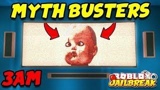 Roblox Jailbreak Mythbusters - 3:00 AM APARTAMENTO EASTER EGG!