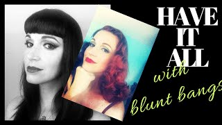 Blending Bangs- Why Blunt/ Short Bangs Don't Limit You!