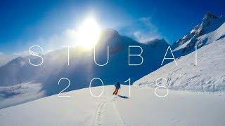 Ski Austria - Stubai, Austria 2018 | GoPro Hero 5 + Karma Grip | Skiing | 4K HD