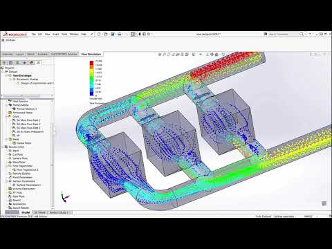 SOLIDWORKS Flow Simulation: How Can CAD Integrated CFD Tool fulfill your Analysis Needs