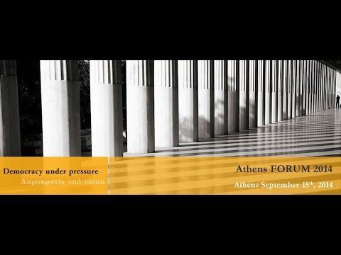 Athens Forum 2014 - Session 1