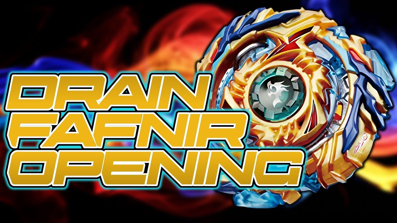 Beyblade Burst Drain Fafnir 8 Nt Unboxing Amp Test Youtube