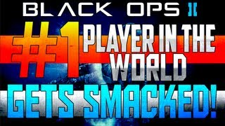 BO2: #1 Ranked Player In The World Gets Smacked & Talks Trash (Smackin