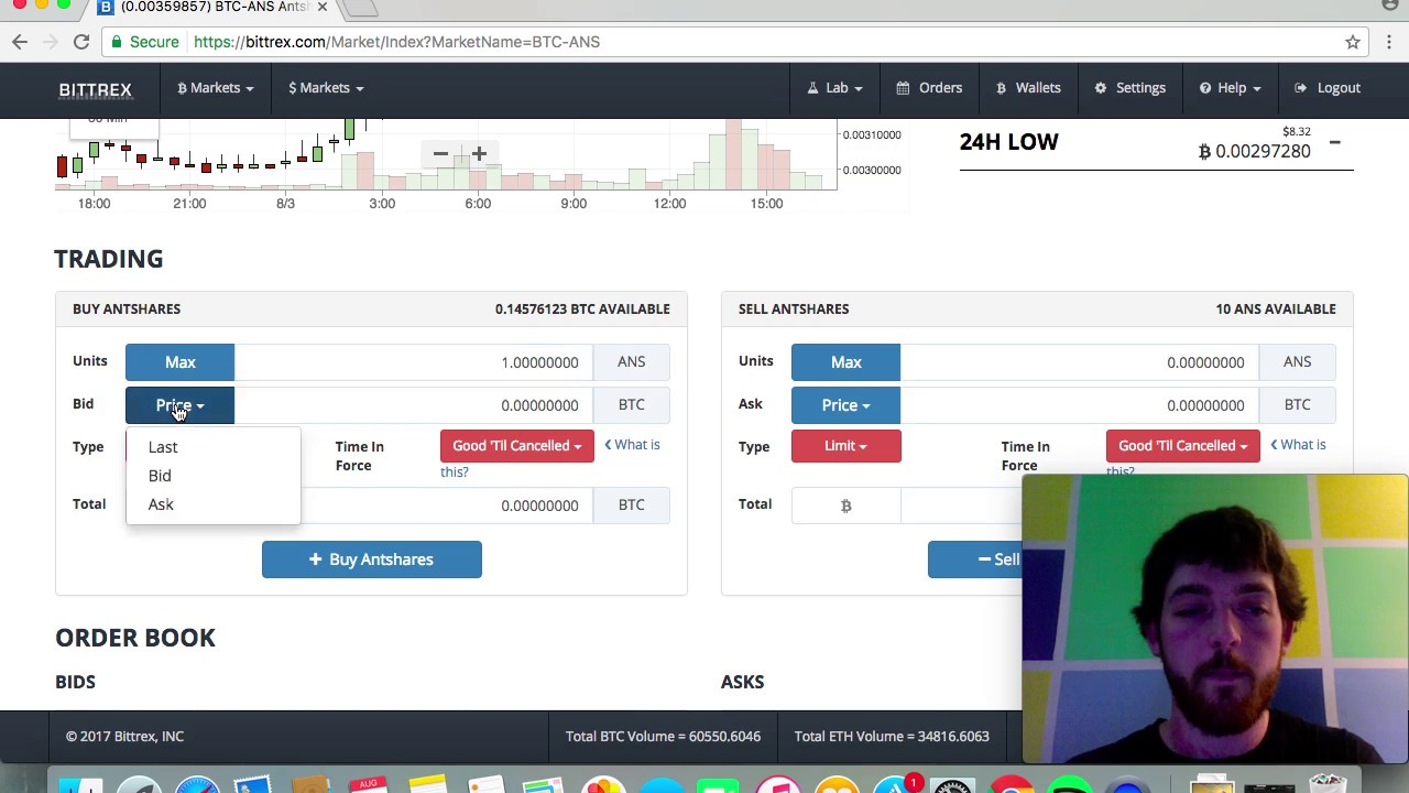 can we use bittrex exchange to buy cryptocurrencies