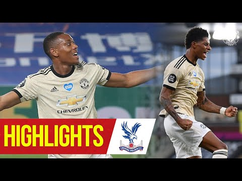 Crystal Palace Manchester United Goals And Highlights