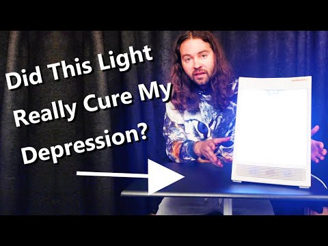 Happy Light Therapy For Depression SAD (Sun Touch Plus Nature Bright Review)