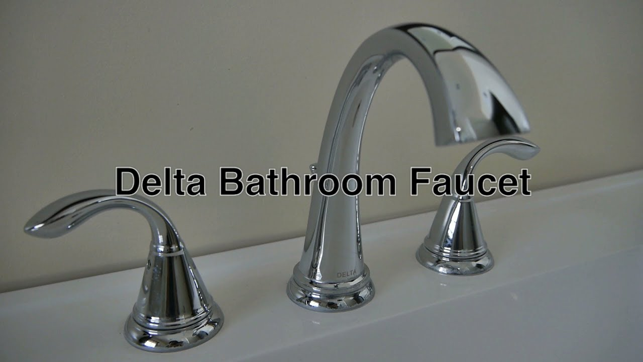 Ordinaire Delta Bathroom Faucets 3 Hole Widespread + No Leaky Water Warranty U0026 Repair  Replacement Parts Info   YouTube