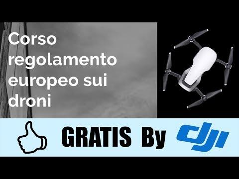 FALLO SUBITO E' GRATIS !!! - CORSO NUOVO REGOLAMENTO EUROPEO DEI DRONI e non solo BY DJI