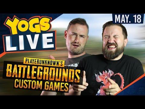 PUBG CUSTOM GAMES - #DadDecks w/ Sips & Turps - 18th May 2017