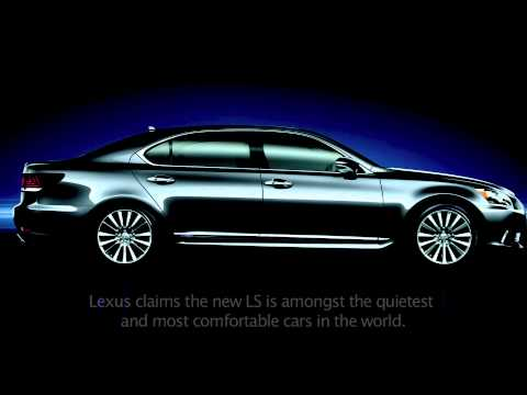 Lexus LS460 and LS600 for 2013