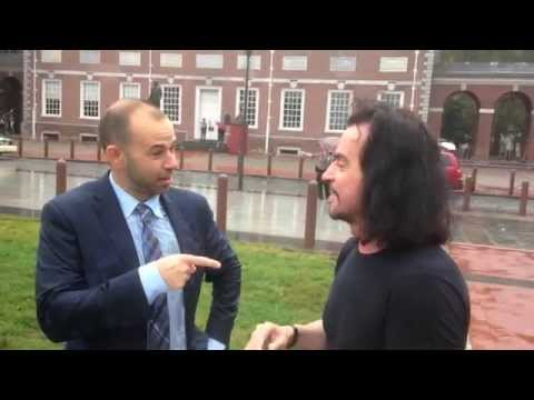 """Yanni and James """"Murr"""" Murray from Impractical Jokers ALS Ice Bucket Challenge"""