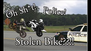 Stolen Bike - Police Pull Over Investigation - Jail Time?