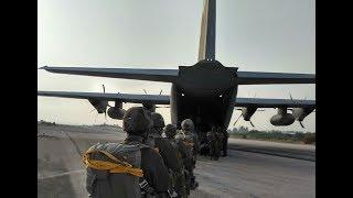 צפו: צניחת הבכורה של הצנחנים החרדים - Haredi paratroopers