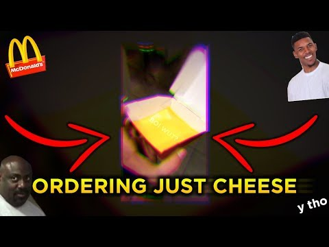 ORDERING JUST A PIECE OF CHEESE AT MCDONALDS (YES IT'S THAT MEME) - Vlog #1 w/ Ryan & Gabe