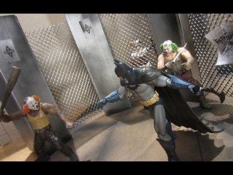Lo-Budget Fun with Batman Arkham Figures
