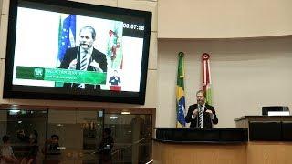 Deputado Altair Silva (PP) chama atenção para as más condições da BR-282