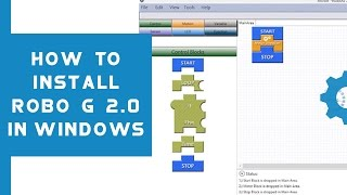 This tutorial teaches you how to install Robo G 2.0 in Windows , to...