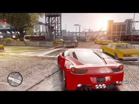 GAMEPLAY - GTA IV [ENB Series v0 802] *9800GT* [HD