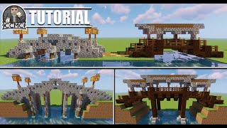 Awesome Bridge Designs and Tips & Techniques Minecraft Tutorial Video