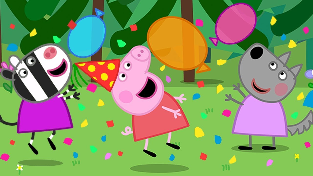Peppa Pig Official Channel It S Peppa Pig S New Year Party Time