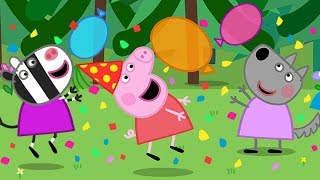 Peppa Pig English Episodes It's Peppa's New Year Party Time Peppa Pig Official 4K