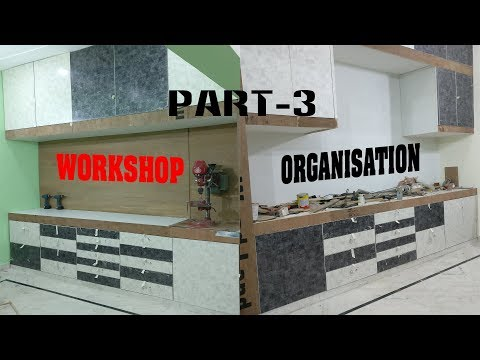 Workshop Cabinet / Organisation build - Part-3