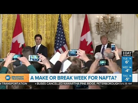Latest round of NAFTA talks get underway in Montreal this week